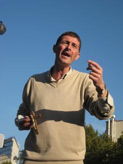 Samuel Pruvot - Aïn Karem - Evangélisation de rue
