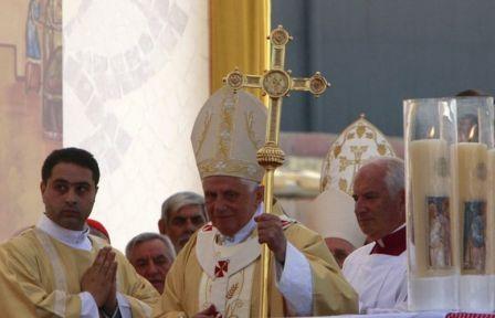 Benoît XVI à Béthanie