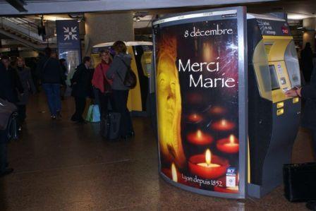 8 décembre - Lyon - Gare