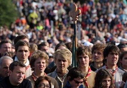 Benoît XVI et les jeunes