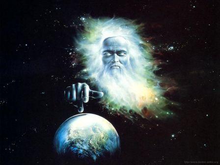 Genèse - main de Dieu