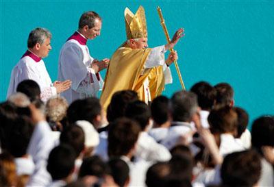 Benoît XVI à Lisbonne