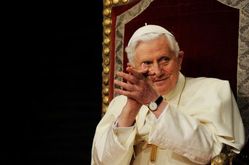 Benoît XVI au Portugal