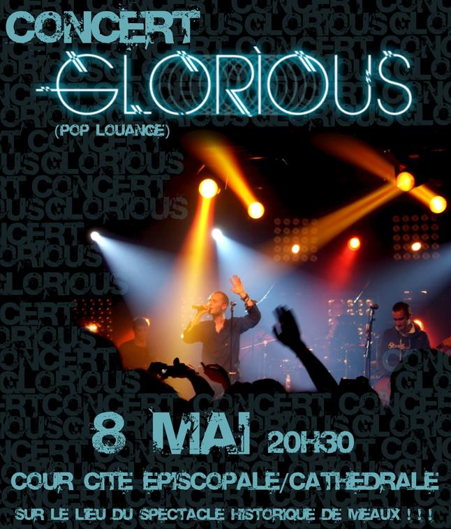 Glorious en concert à Meaux