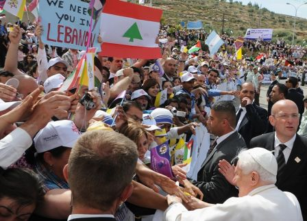 Benoît XVI en Jordanie