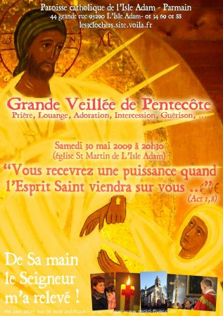 Flyer Pentecôte