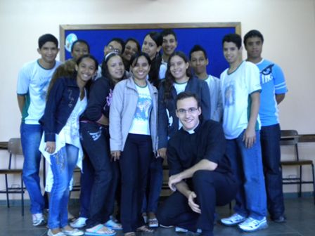 Groupe de jeunes de la paroisse