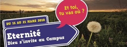 Direction éternité : Dieu s'invite au campus