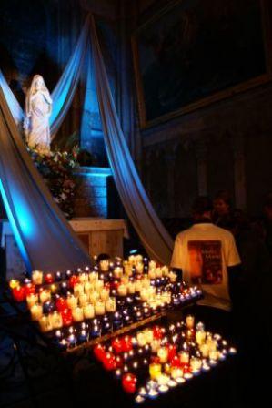 8 décembre - Lyon - bougies