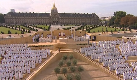 Benoît XVI aux Invalides