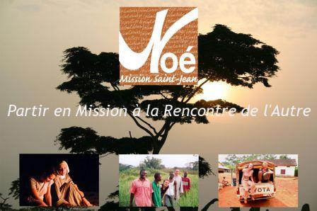 Noé Mission Saint Jean - évangélisation
