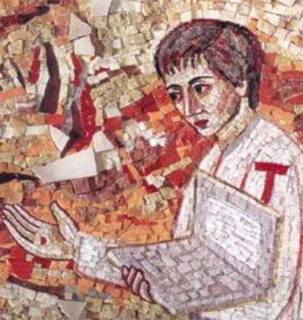 Chapelle Redemptoris Mater - Vatican - mosaïque de Marco Ivan Rupnik s.j.