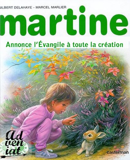 Martine part en mission - Adveniat